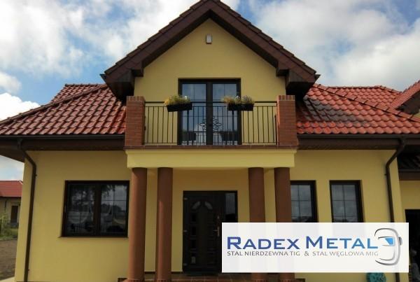 Balustrady balkonowe Radex Metal Słupsk
