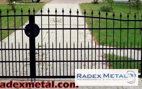 Bramy skrzydłowe Radex Metal Słupsk