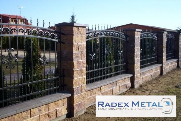 Ogrodzenia Słupsk Radex Metal