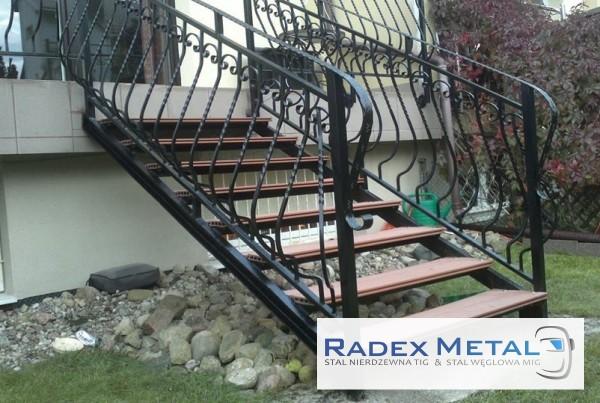 Balustrady schodowe Radex Metal Słupsk